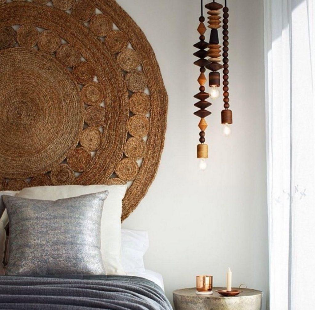 rug headboard