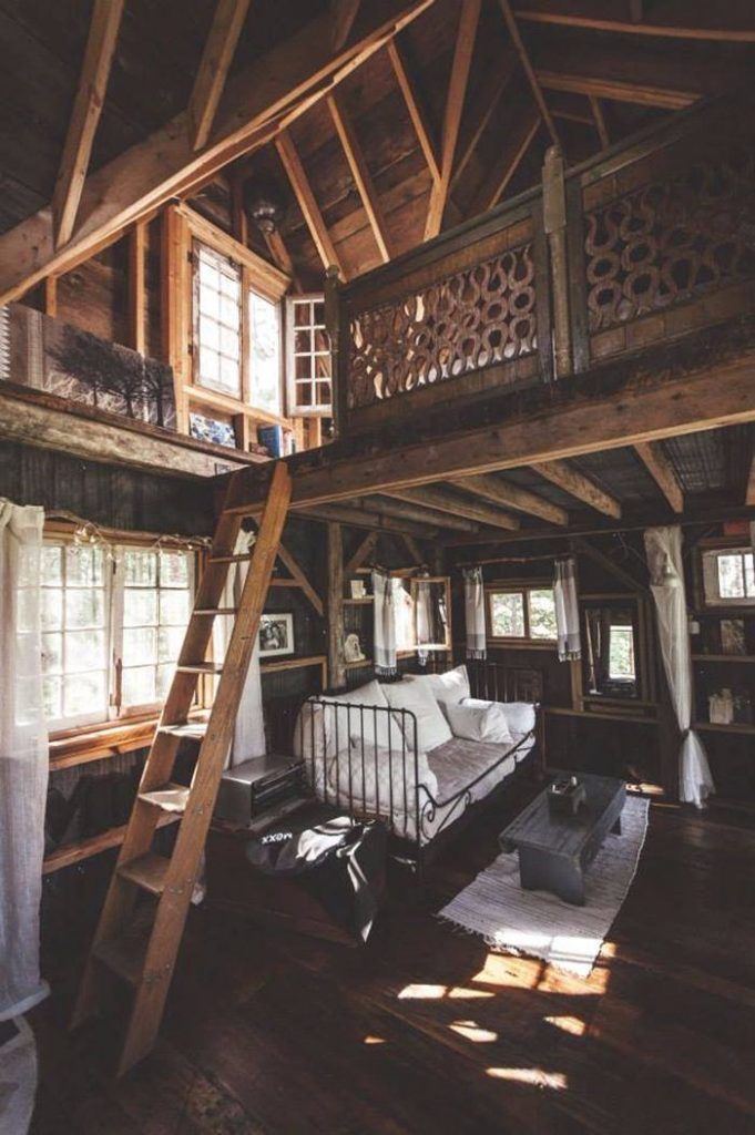 cabin with loft-compressed