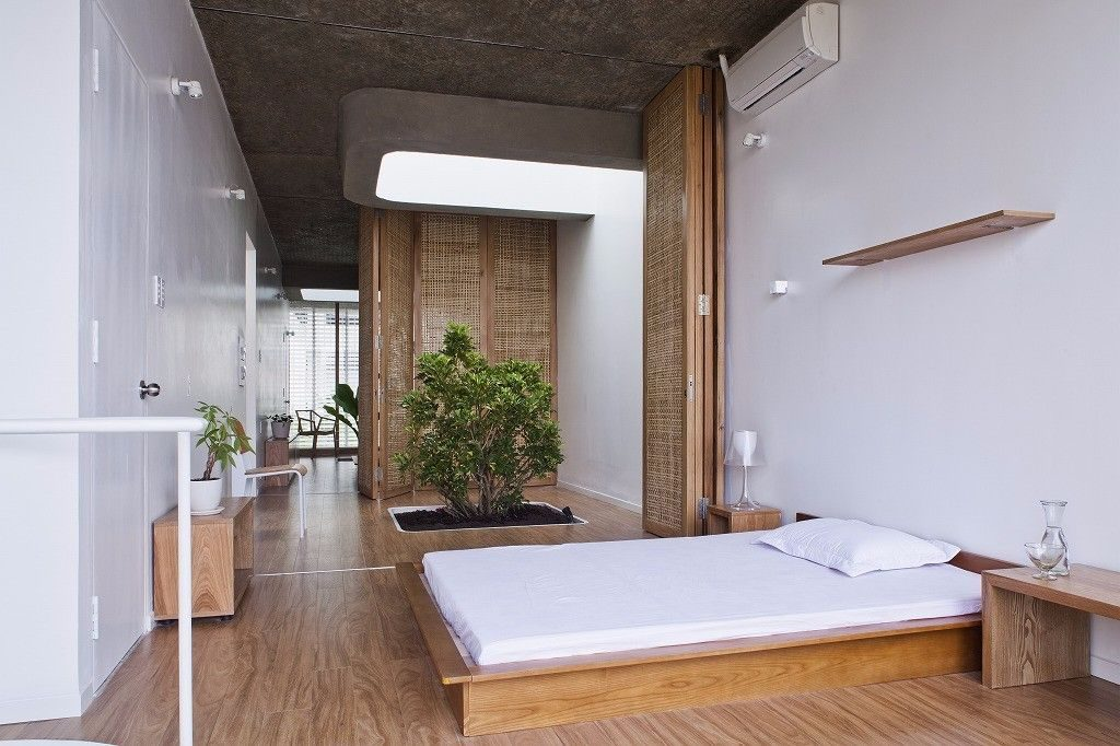 bedroom with integrated plants-compressed