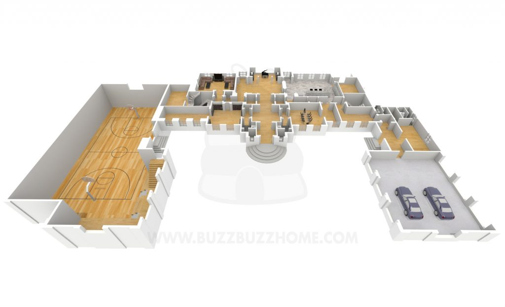Drizzy Manor Floorplan 1