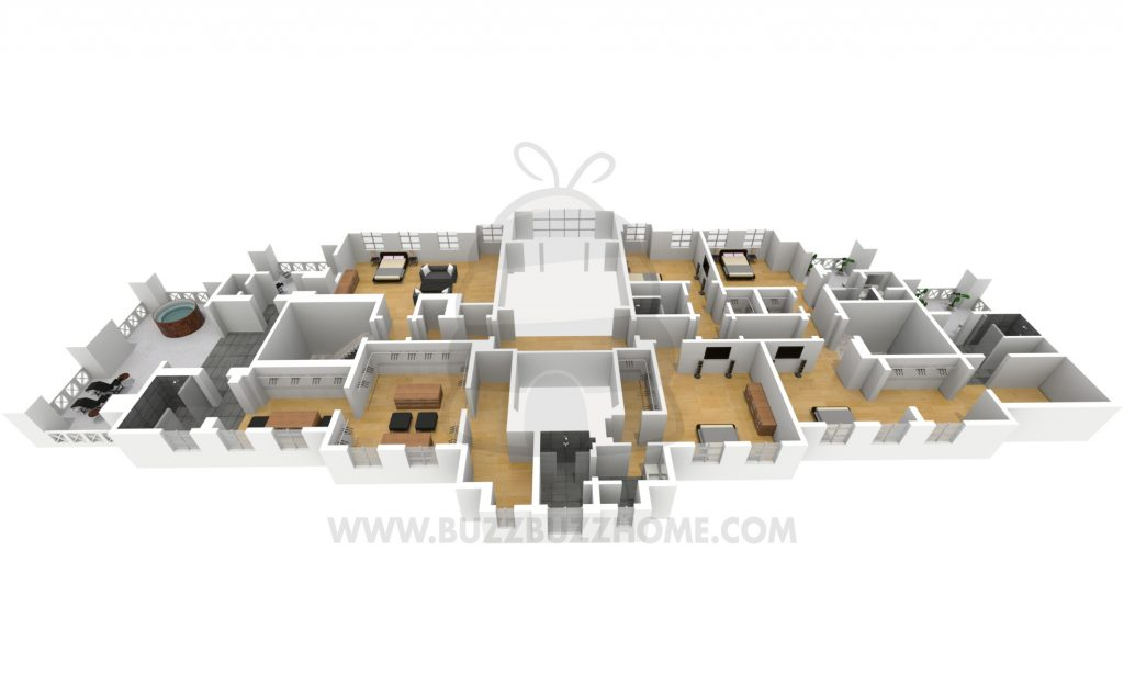 Drizzy Manor Floorplan 3