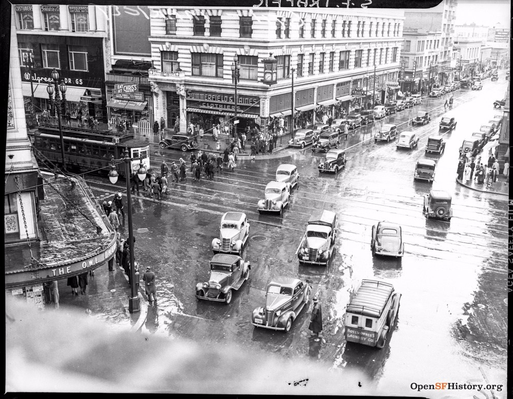 SF 1940s 6th market
