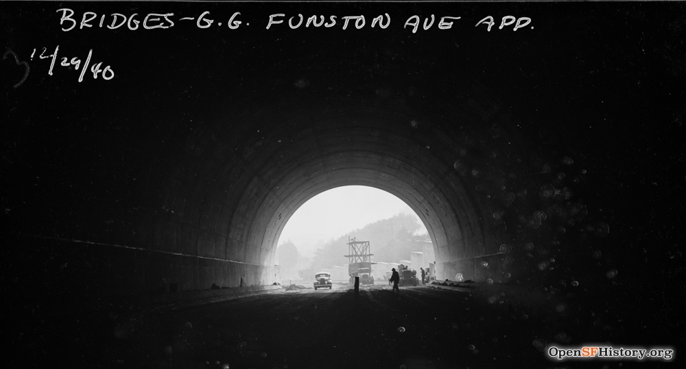 SF 1940s macarthur tunnel