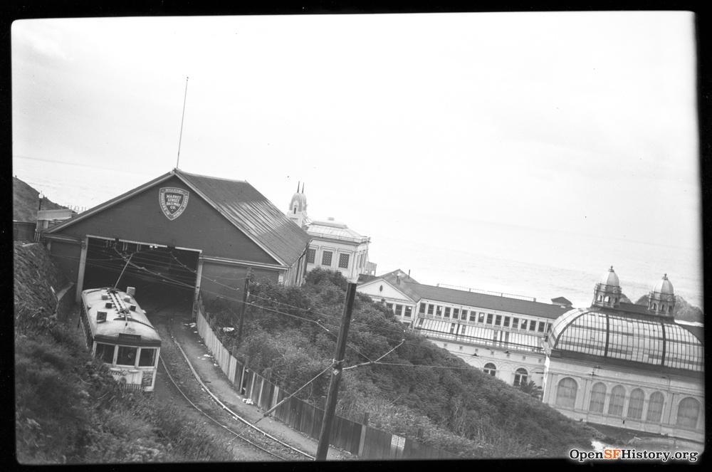 SF 1940s streetcar depot