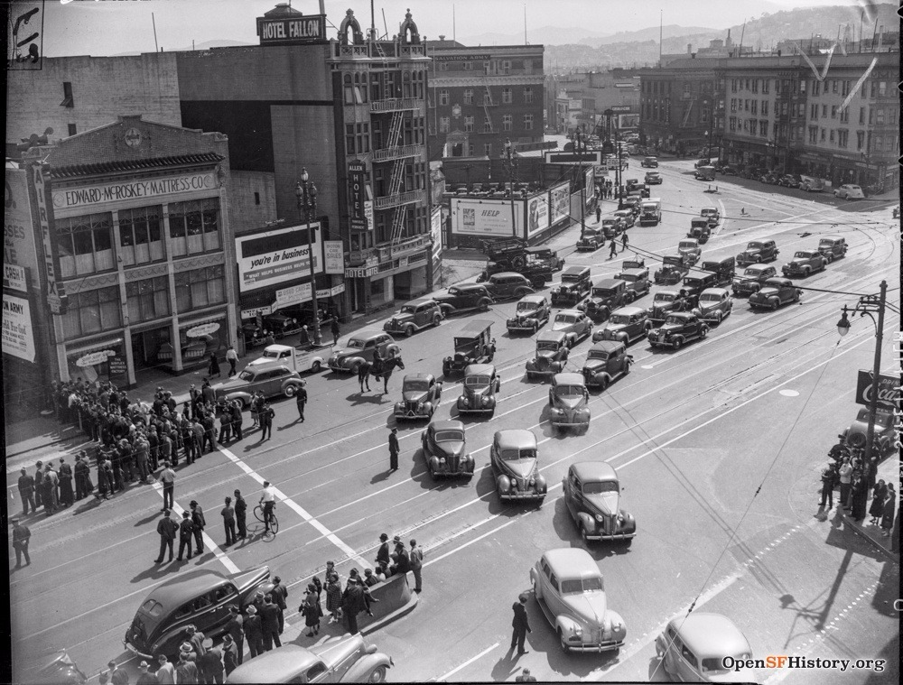 SF 1940s valencia market