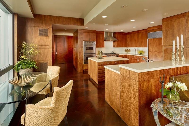 SOMA condo kitchen