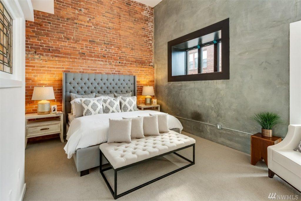 capitol hill condo bedroom