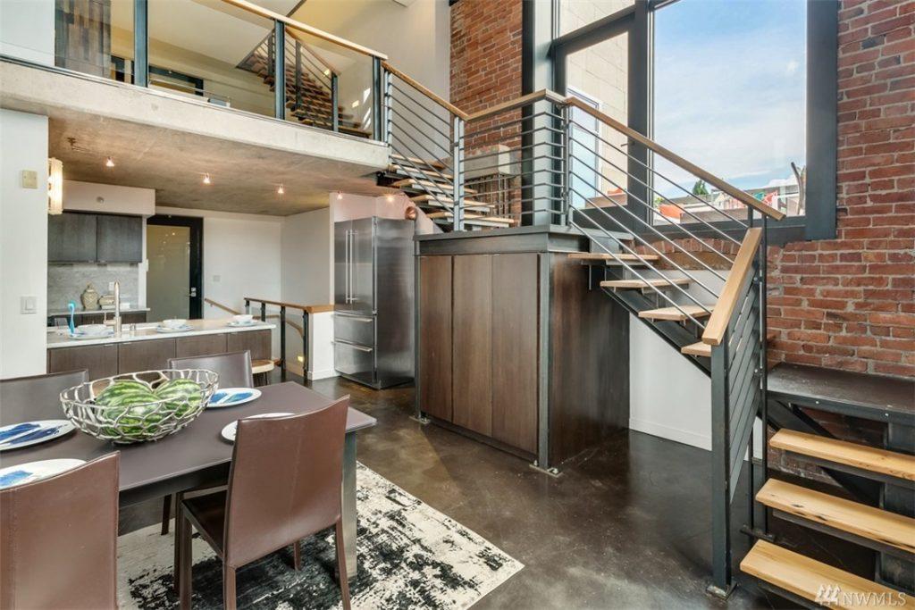 capitol hill condo kitchen
