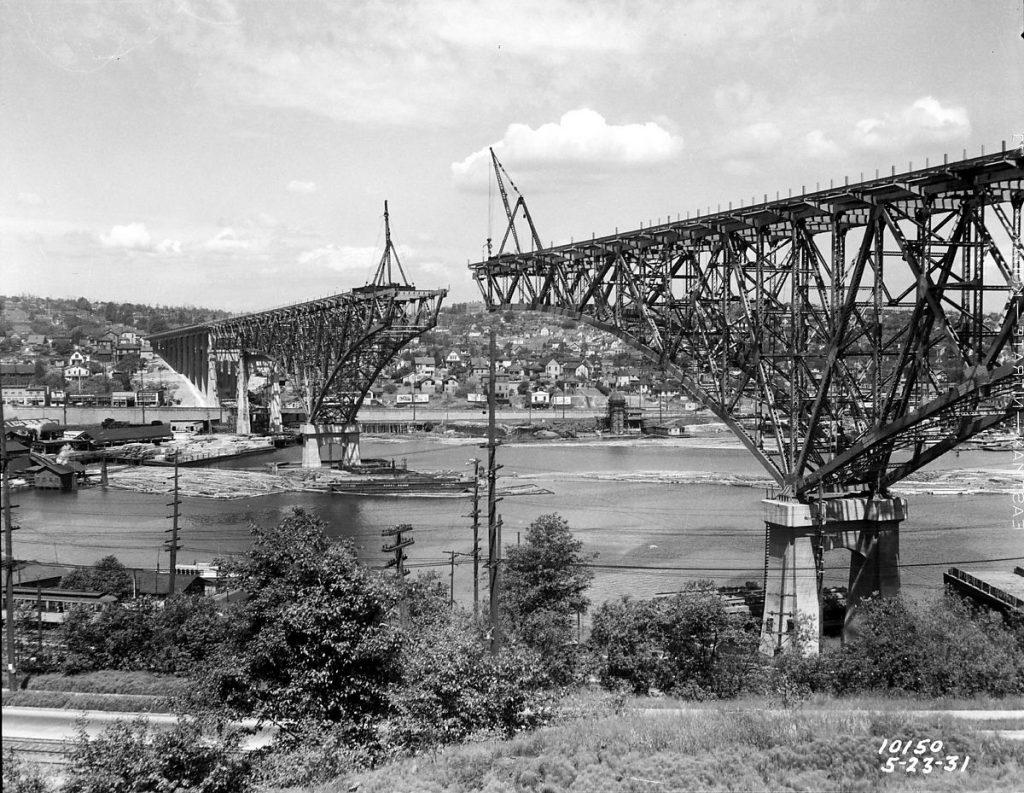 great depression seattle aurora bridge