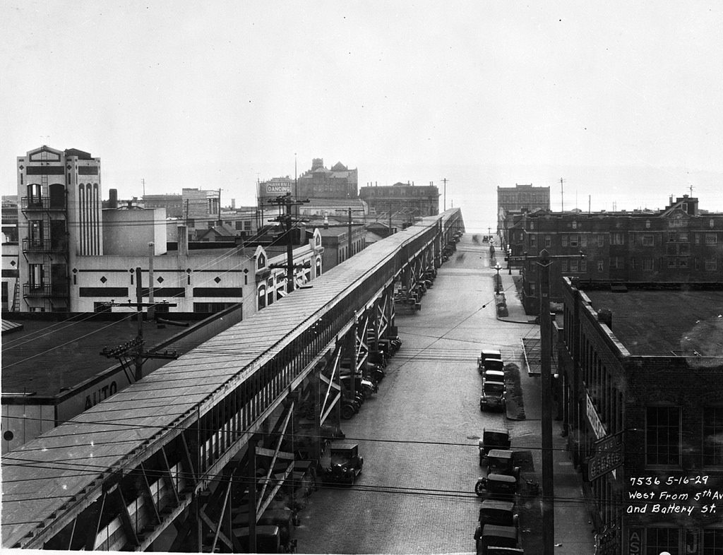 great depression seattle conveyor belt