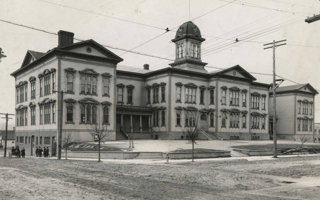 great depression seattle denny school