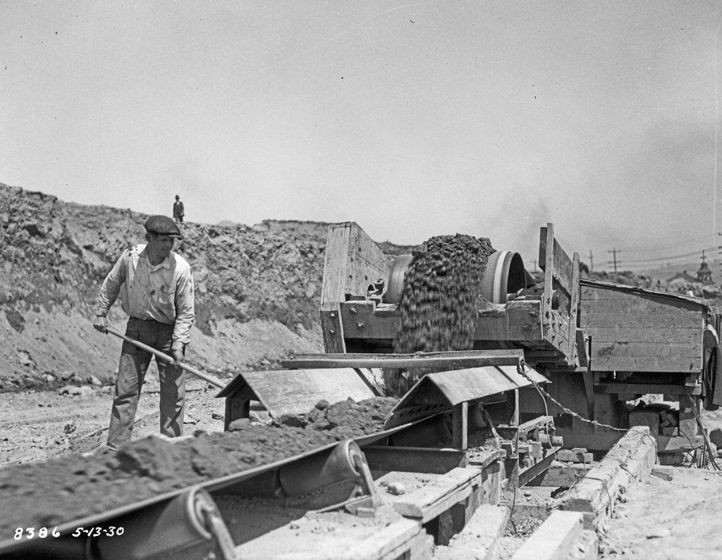 great depression seattle shoveling
