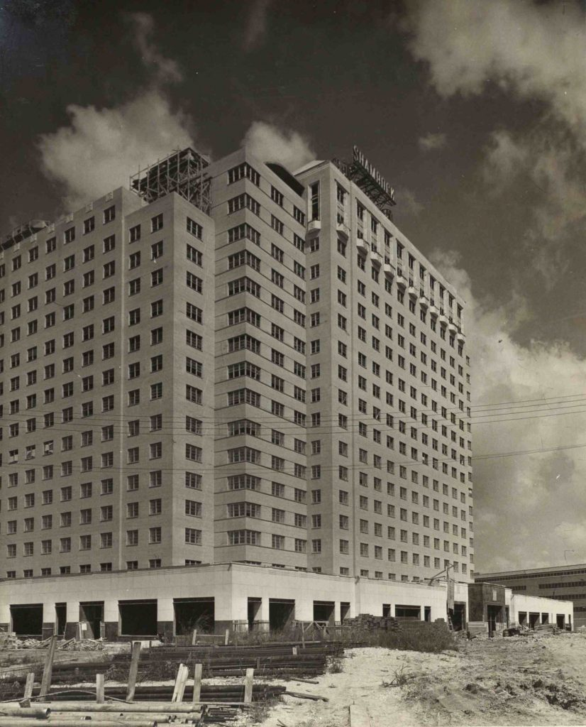 houston 1940s shamrock hotel