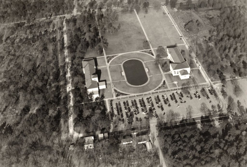houston 1940s university campus
