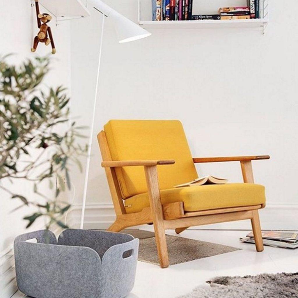 mustard seed chair