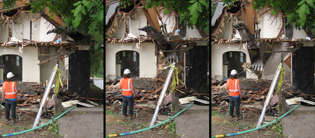 seattle houses demolished