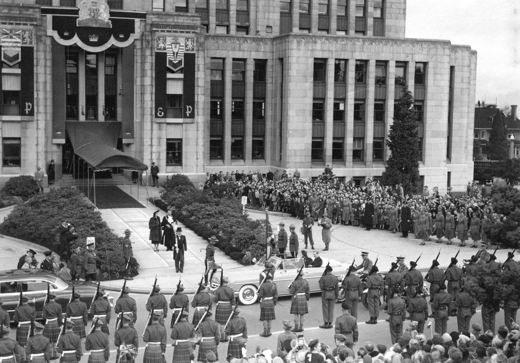 vancouver 1950s city hall