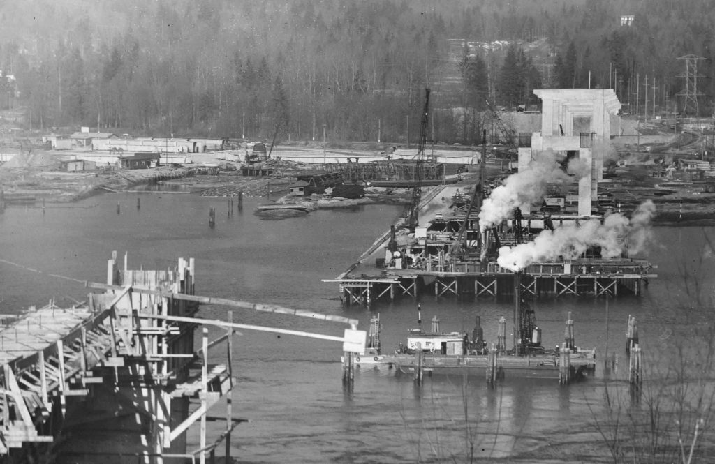 vancouver 1950s second narrows