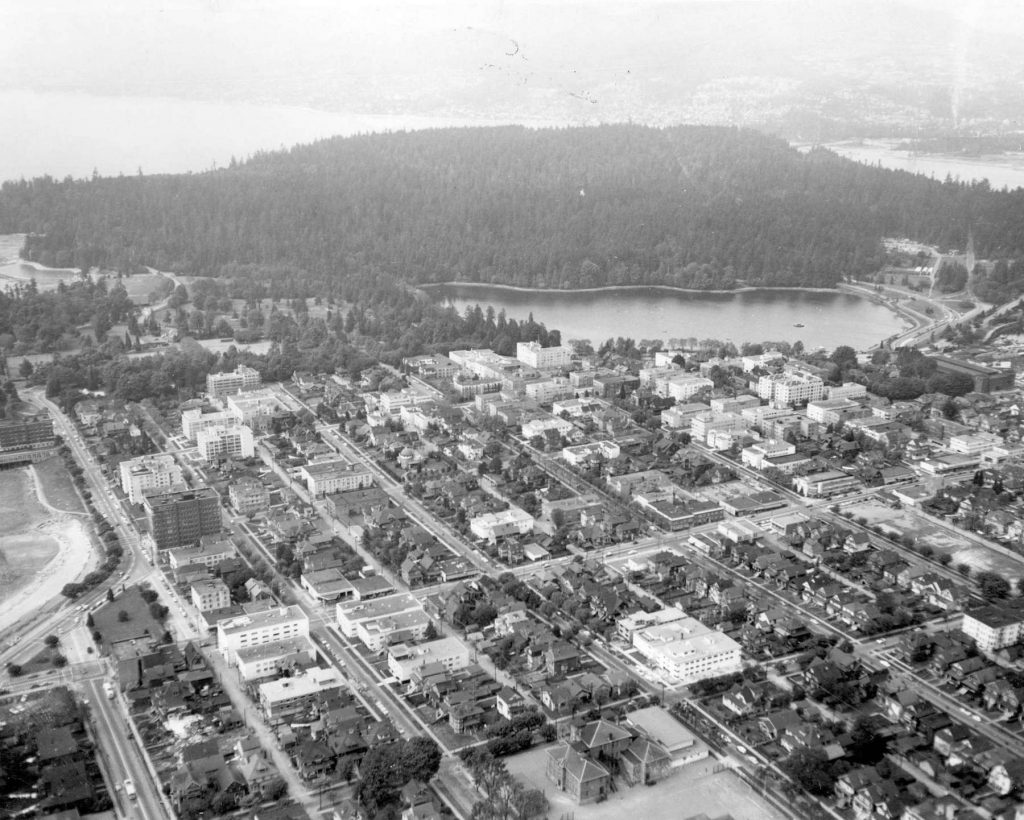 vancouver 1950s west end