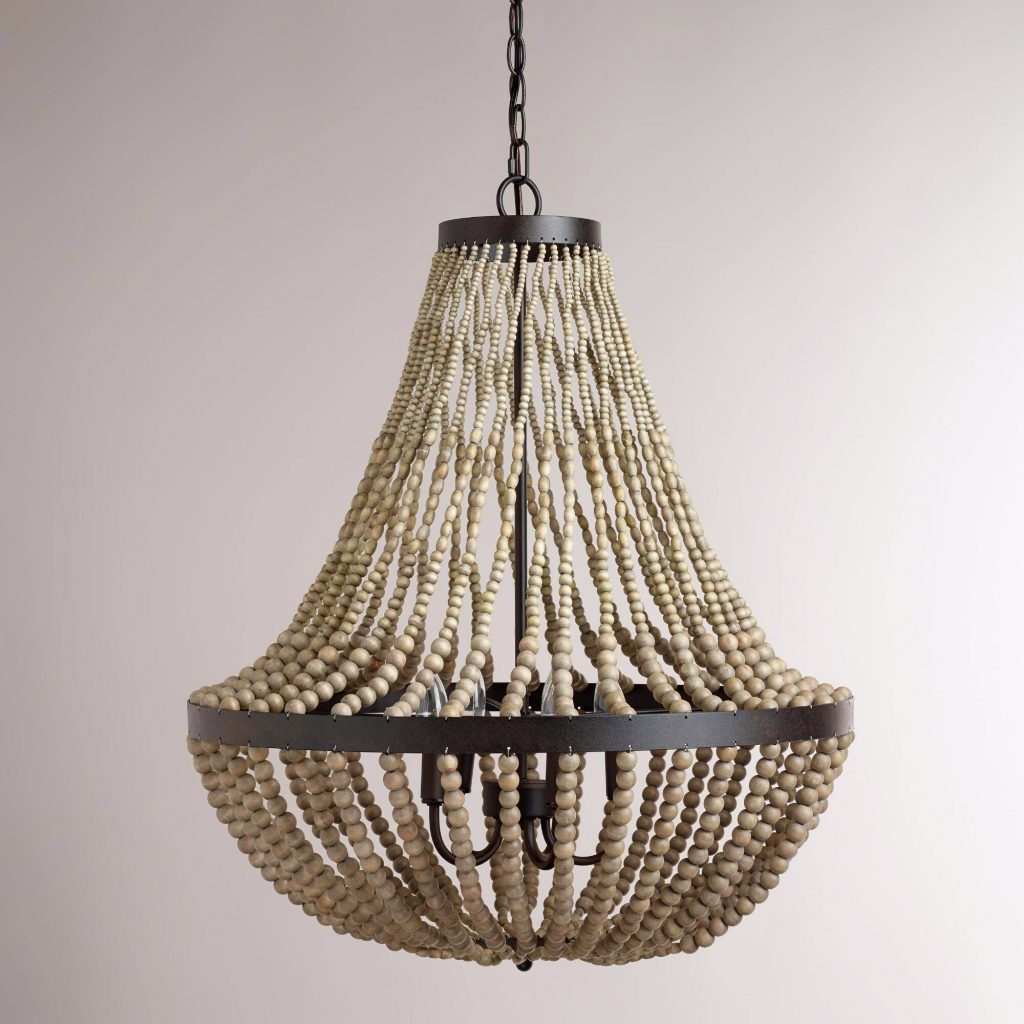 wood bead chandelier-compressed