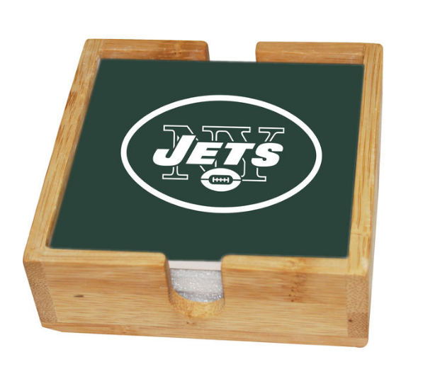 NFL home decor coasters