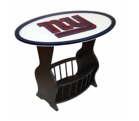 NFL home decor end table