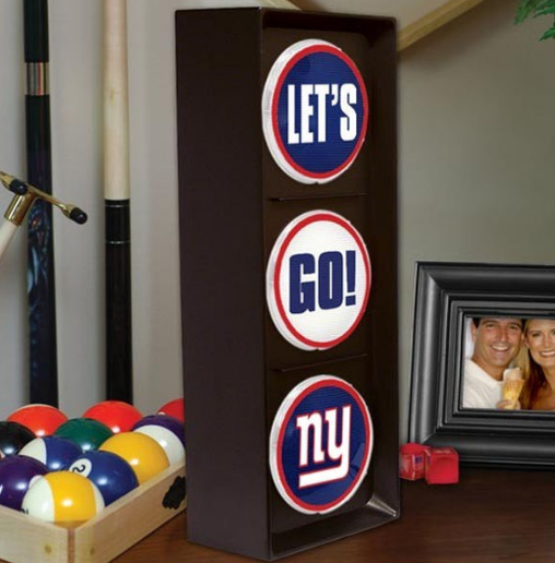 NFL home decor lets go light