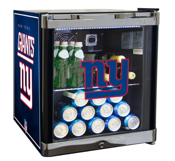 NFL home decor mini fridge