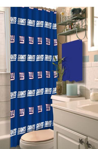 NFL home decor shower curtain