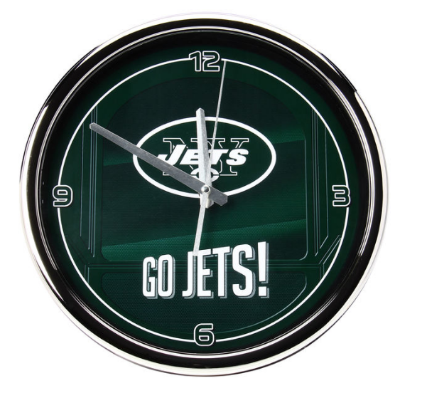NFL home decor wall clock