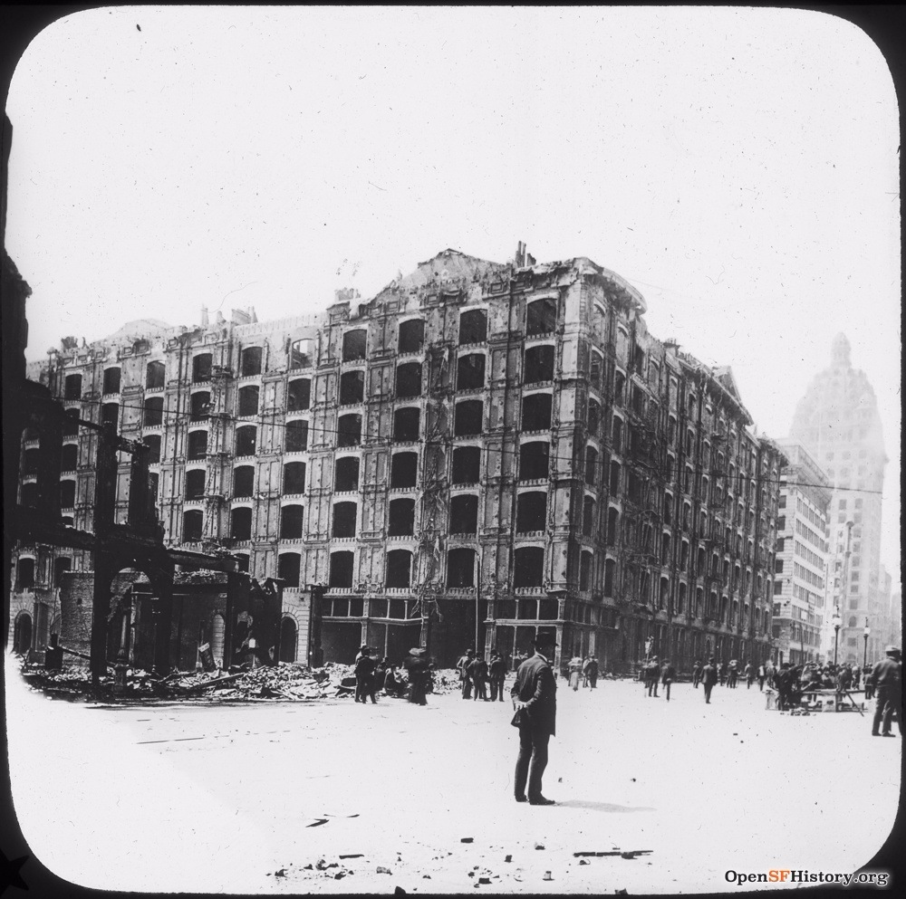SF earthquake palace hotel 1