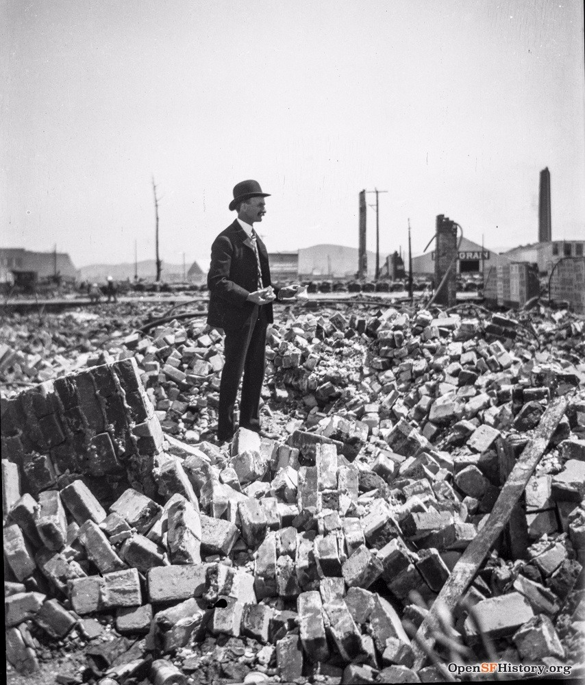 SF earthquake rubble