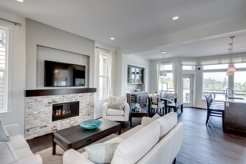 plateau fireplace
