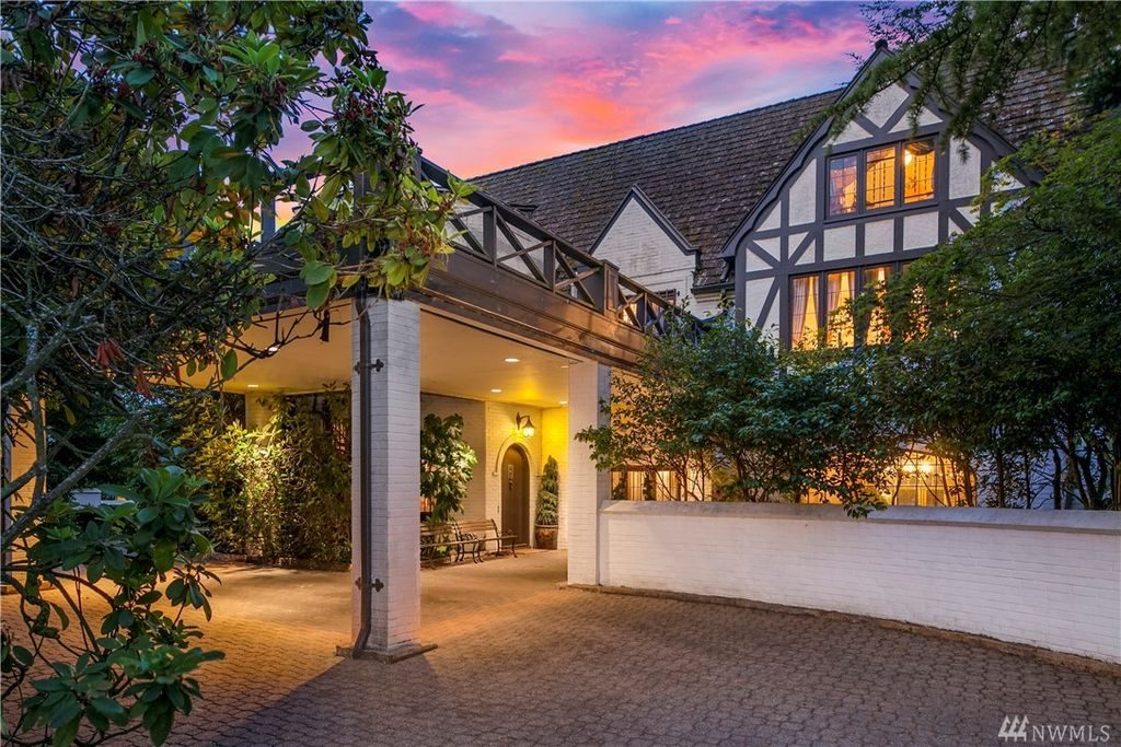 storybook mansion exterior