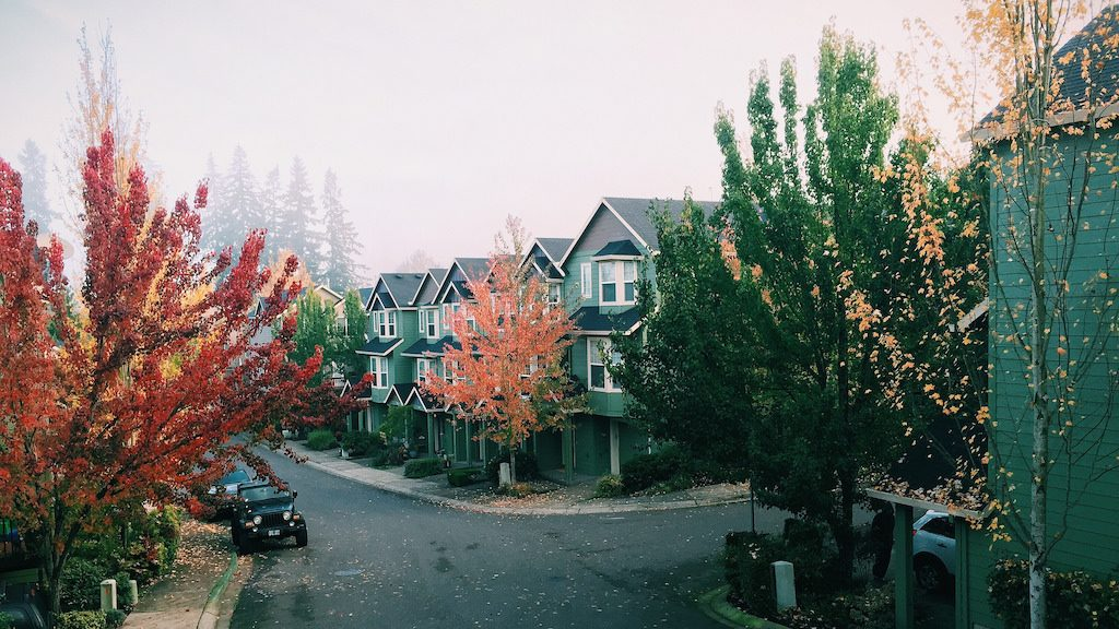 Oregon neighborhood