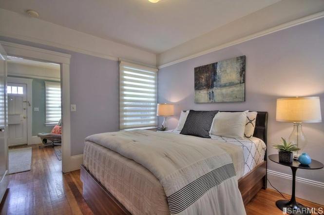 SF tiny house bedroom