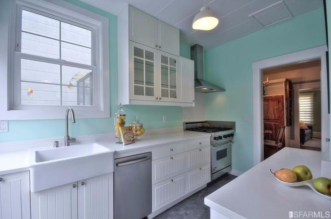 SF tiny house kitchen