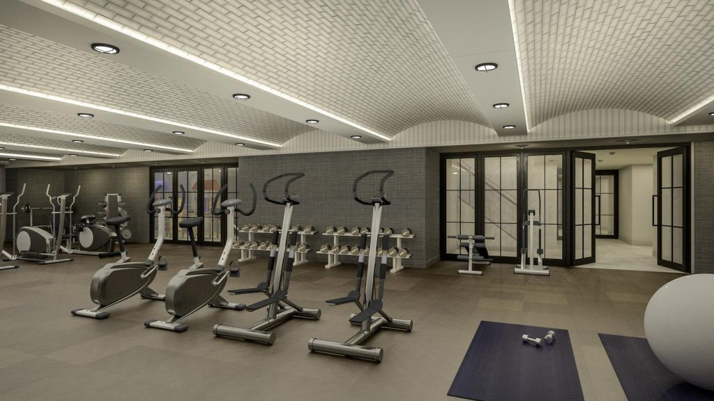 The Sutton fitness center