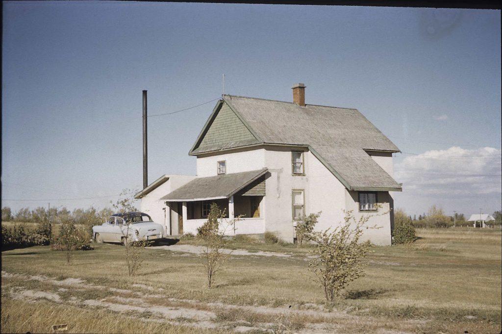 calgary 1950s farm house