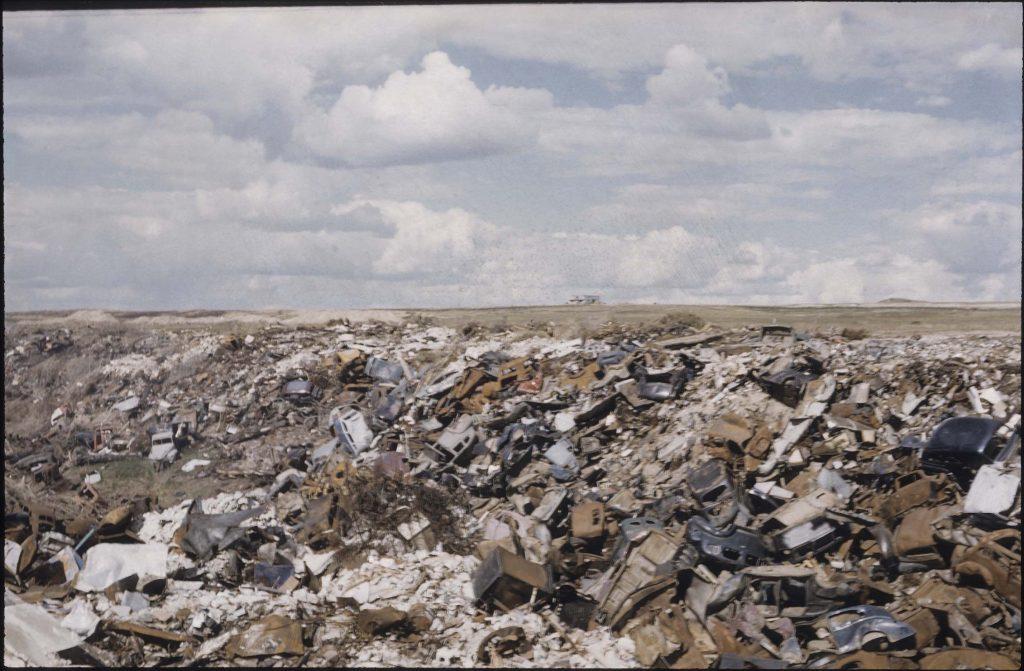 calgary 1950s garbage