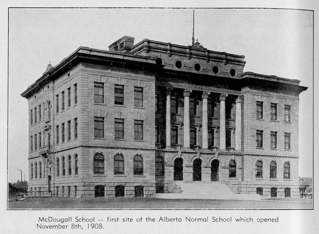 calgary 1950s mcdougall school