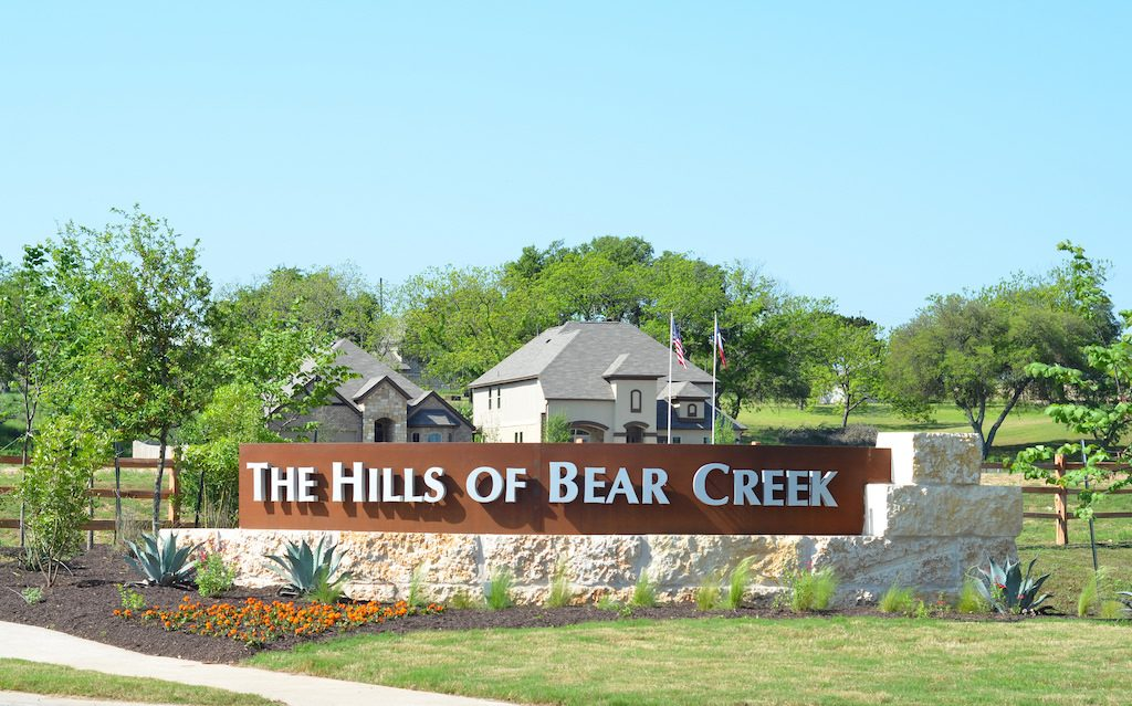 hills of Bear Creek