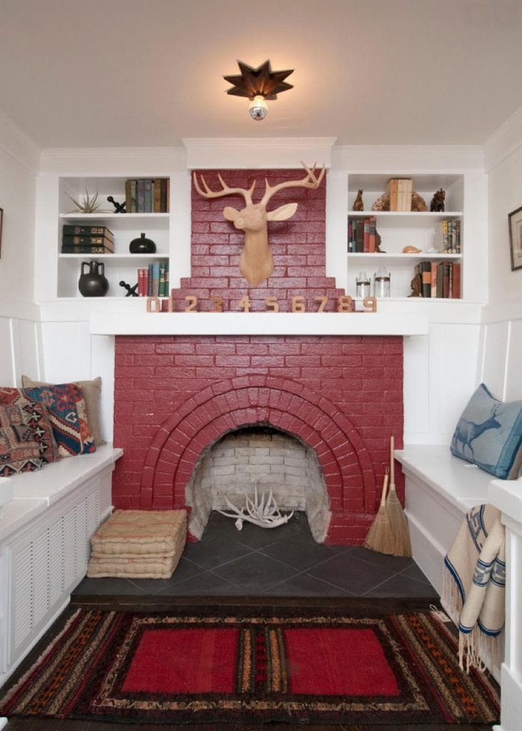 painted fireplace-min