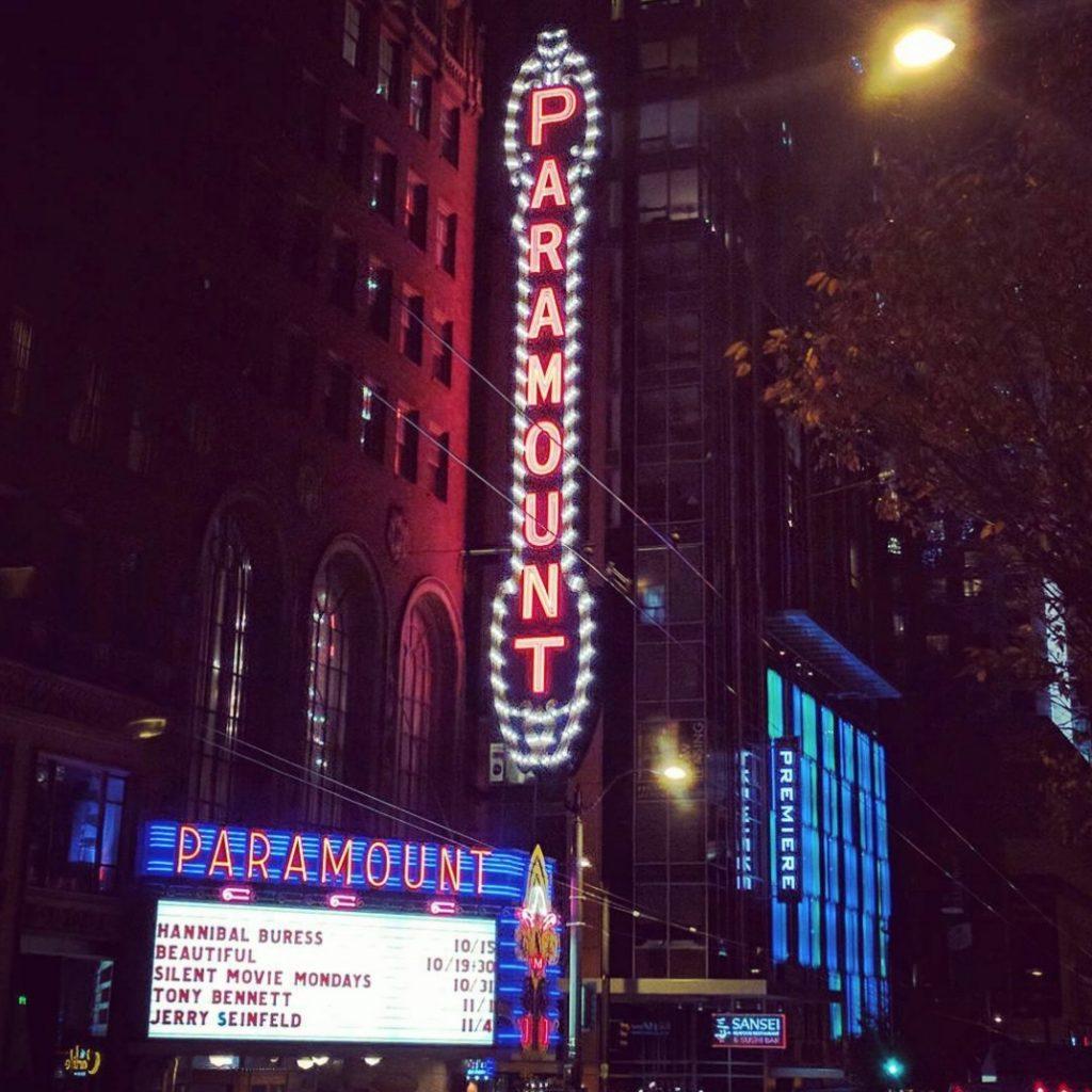 paramount theater exterior