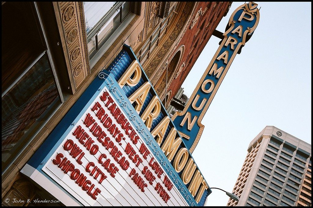 paramount theater sign 1