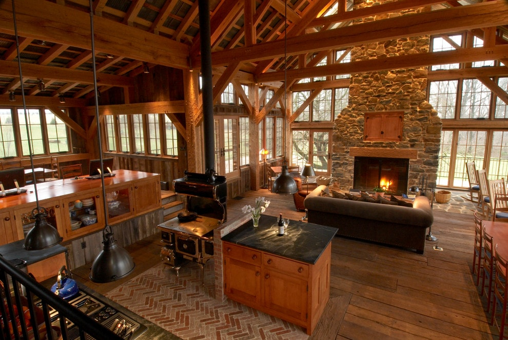 stone fireplace-min