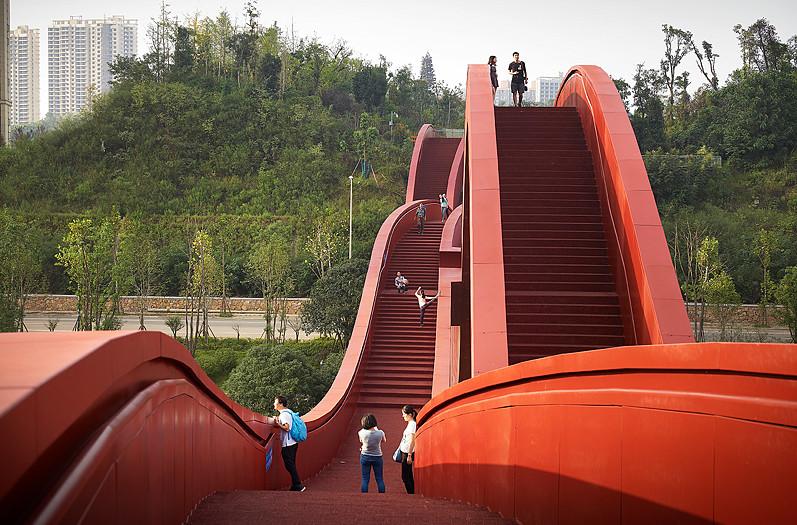 wavy bridge 3