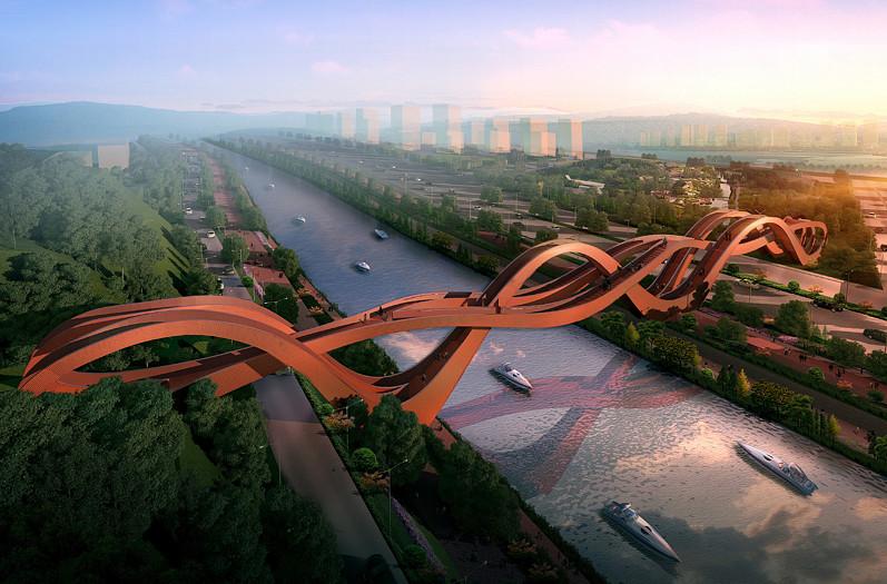 wavy bridge 4