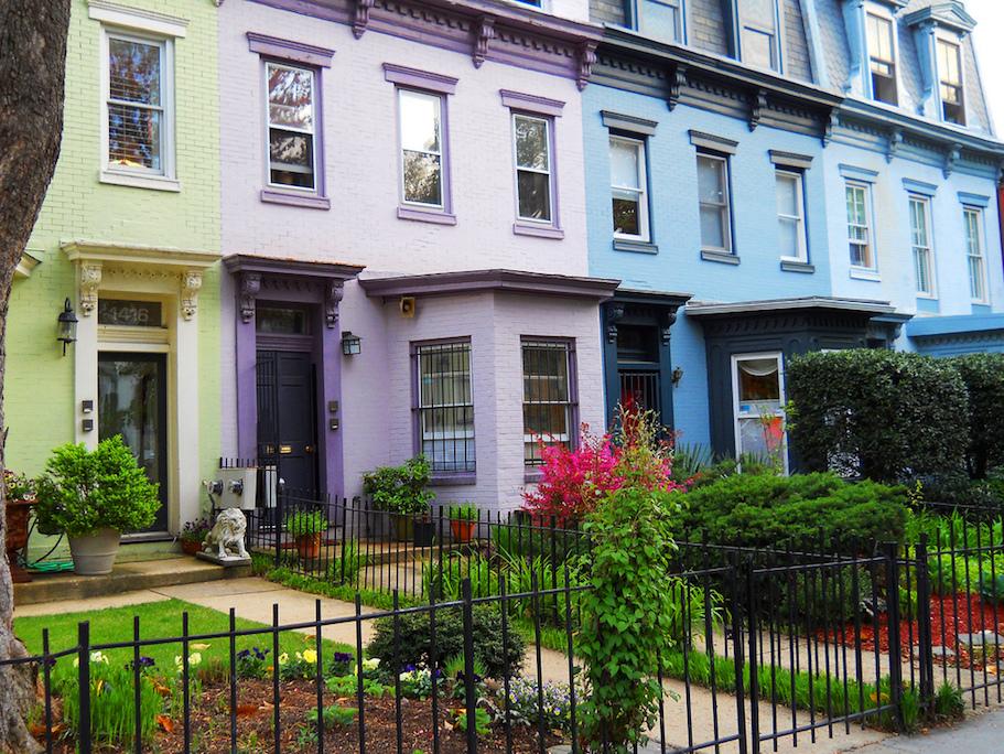 DC row houses