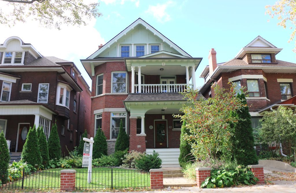GTA average detached home price
